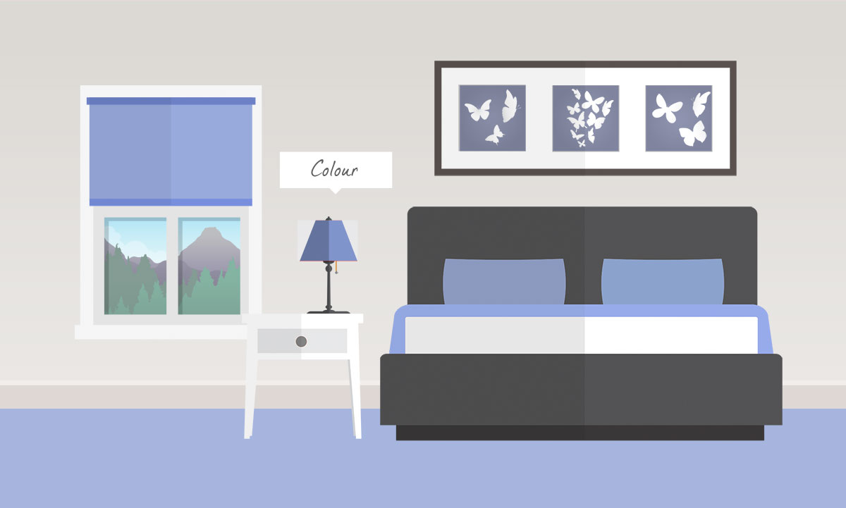 Change the mood with a soothing colour scheme